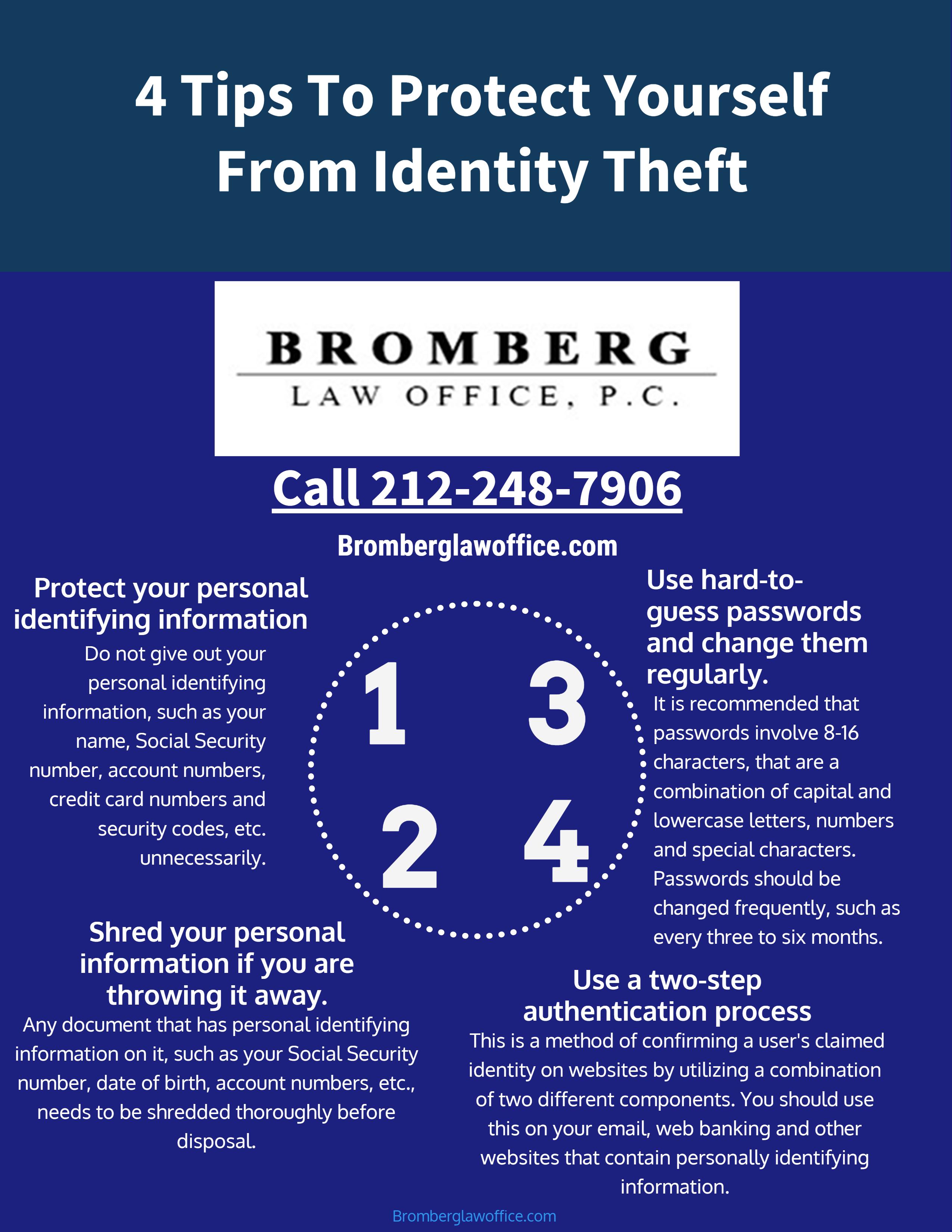 Bromberg Identity theft infograh