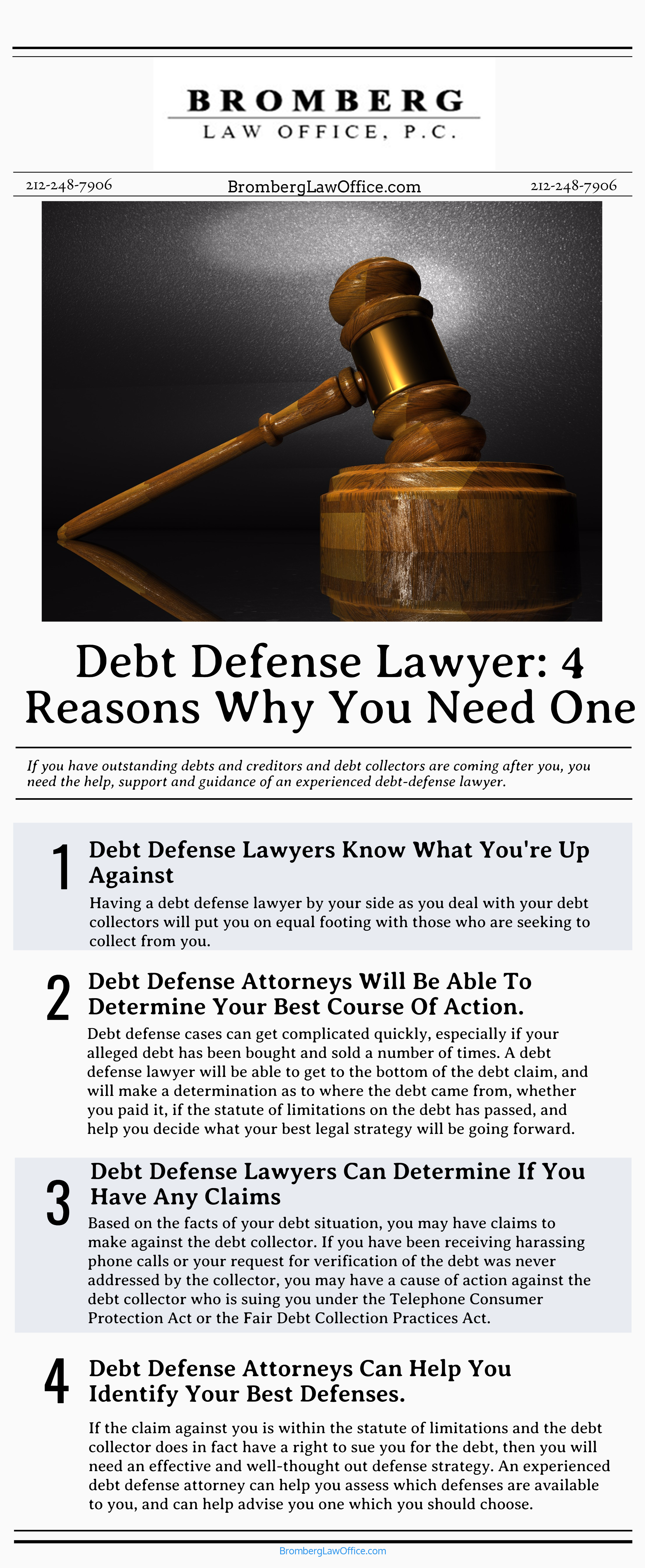 4 reasons you need a defense attorney